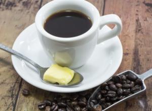 バターコーヒーの画像